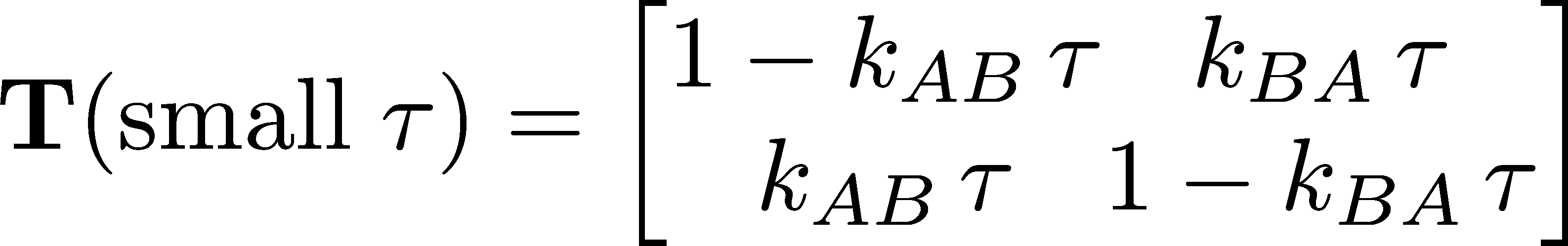 Discrete-state kinetics and Markov models | Physical Lens on